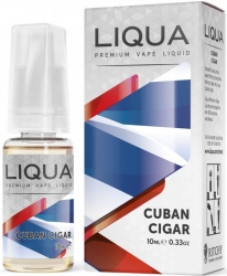 LIQUA Elements - Cuban Cigar (Kubánský doutník) 10ml