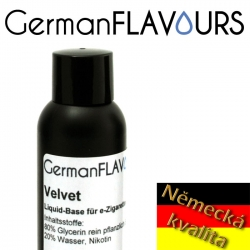 GermanFLAVOURS - báze VELVET - 100ml nikotin 24 mg/ml (2,4%)