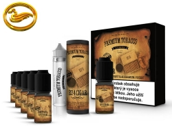 Premium Tobacco DIY sada 6x10ml - RY4 Cigar