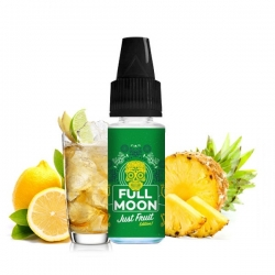 Full Moon - Příchuť 10ml - Just Fruit Green (Ananas, zázvor a citrusy)