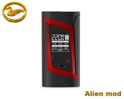 Smok Alien 220W box mod - červený