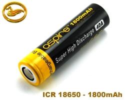 ASPIRE baterie ICR 18650 1800mAh