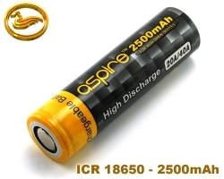 ASPIRE baterie ICR 18650 2500mAh