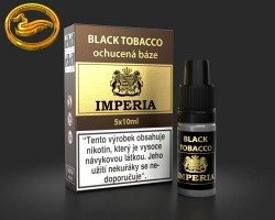 IMPERIA báze ochucená Black Tobacco 5x10ml (50ml)