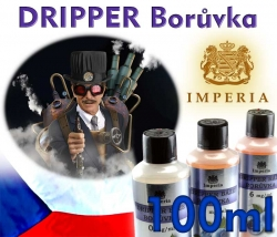 IMPERIA - Báze DRIPPER Borůvka - 100ml Obsah nikotinu 1,5 mg/ml