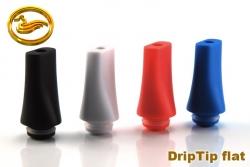 DripTip - plastový plochý barva černá