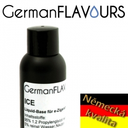 GermanFLAVOURS - báze ICE - 100ml nikotin 18 mg/ml (1,8%)