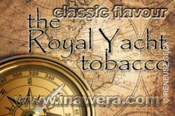 INAWERA - Příchuť do liquidů - CLASSIC Royal Yacht Tobacco - 10ml