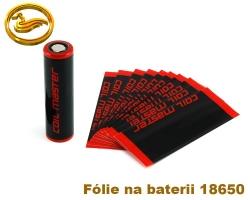 CoilMaster - fólie na baterie 18650 - 10ks