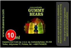 INAWERA příchuť 10ml - Gummy Bears