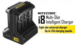 Nitecore Intellicharger i8 - Inteligentní Li-ion/NiMH nabíječka