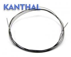 Kanthal D - odporový drát - 1m průměr: 0,28mm (23,7Ω/m)