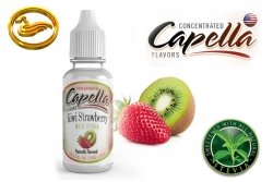 Capella příchuť Kiwi Strawberry with Stevia (Kiwi a jahoda se stévií) - 13ml