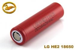 LG baterie 18650 HE2 2500mAh