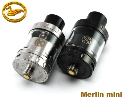 atomizer MERLIN mini RTA - klon barva černá