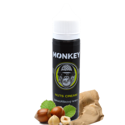 Monkey Liquid - Příchuť Shake & Vape 12ml - Nuts Cream
