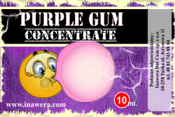 INAWERA příchuť 10ml - Purple Gum
