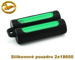 Coilmaster - Silikonové pouzdro na 2 baterie 18650