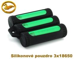 Coilmaster - Silikonové pouzdro na 3 baterie 18650