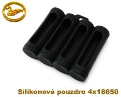 Coilmaster - Silikonové pouzdro na 4 baterie 18650