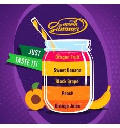 BigMouth příchuť 10ml - Smooth Summer - Orange Juice, Peach, Bla