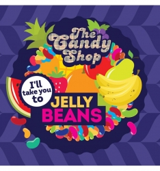 BigMouth příchuť - The Candy Shop - Jelly beans (Želé bonbóny) -