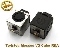Atomizer Twisted Messes V3 Cube RDA - klon