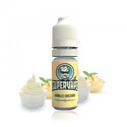 SuperVape - příchuť 10ml - Vanille Custard (Vanilkový puding)
