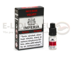 IMPERIA Nico Base VELVET (70VG/30PG) 18mg - 5x10ml