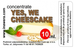 INAWERA - Příchuť do liquidů - Yes, We Cheescake - 10ml