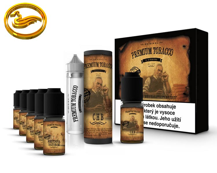 Premium Tobacco DIY sada 6x10ml - CHB