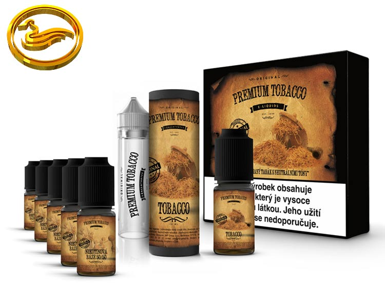 Premium Tobacco DIY sada 6x10ml - Tobacco