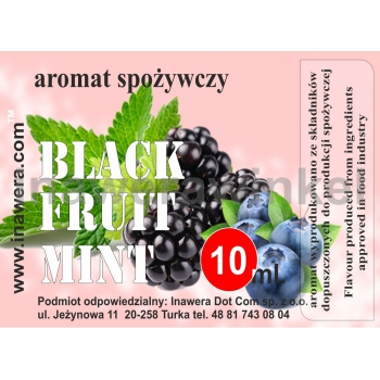 INAWERA - příchuť do liquidl Black Fruit mint - 10ml