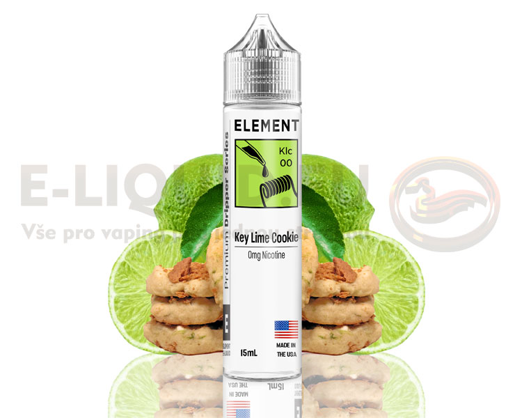 Element E-Liquids - Shake & Vape - Key Lime Cookie - 15ml