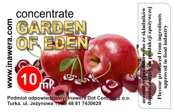 INAWERA - Příchuť do liquidů - Garden of Eden - 10ml