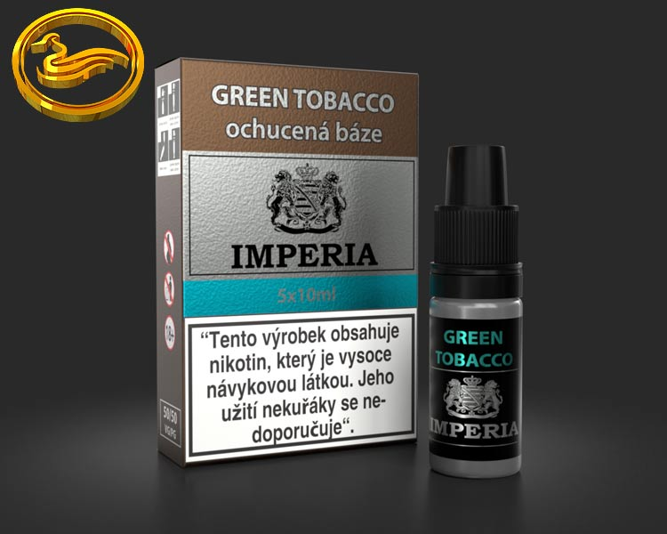 IMPERIA báze ochucená Green Tobacco 5x10ml (50ml)