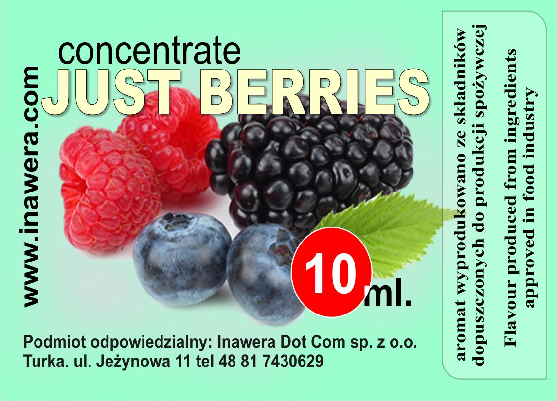 INAWERA příchuť 10ml - Just Berries