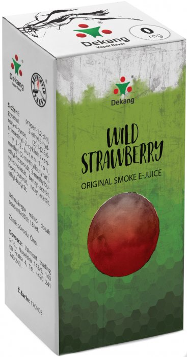 Dekang Classic - Wild Strawberry - 10ml