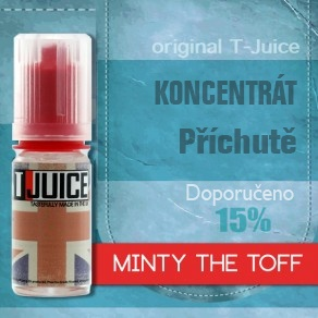 T-JUICE příchuť 10ml - Minty the Toff